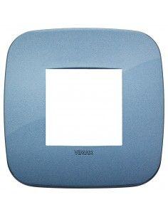 Vimar 19672.86 Arke - placca 2 moduli blu