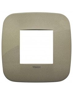 Vimar 19672.87 Arke - placca 2 moduli verde