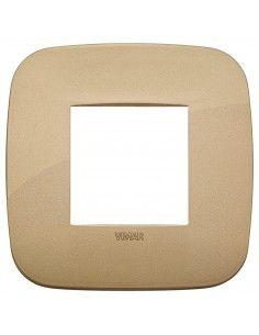 Vimar 19672.88 Arke - placca 2 moduli oro antico