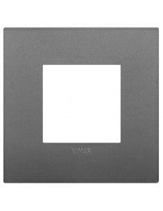 Vimar 19642.72 Arke - placca 2 moduli grigio