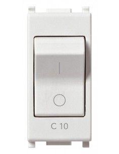 Vimar 14405.10 Plana - interruttore automatico magnetotermico 1P+N 10A