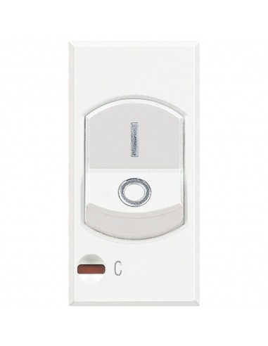 Axolute Bianco - magnetotermico 1P+N 16A 3kA