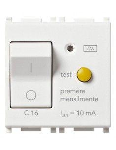Vimar 14411.16 Plana - interruttore automatico magnetotermico differenziale 1P+N 16A