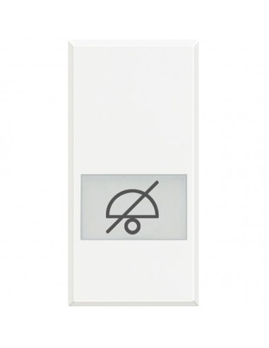 Axolute Bianco - copritasto simbolo non disturbare