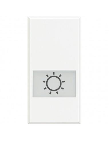 Axolute Bianco - copritasto con simbolo luce