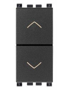 Vimar 19062 Arke - pulsante doppio interbloccato