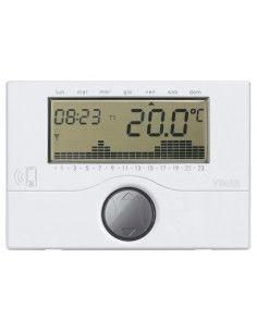 Vimar 01913 - cronotermostato da parete bianco GSM