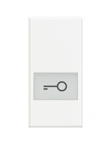 Axolute Bianco - copritasto simbolo chiave
