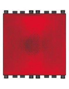 Vimar 19387.R Plana - specula 230V rosso