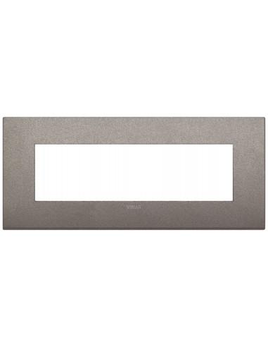 Vimar 19657.04 Arke - placca 7 moduli titanio matt