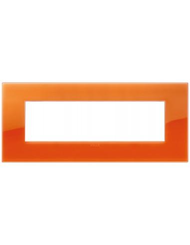 Vimar 19657.63 Arke - placca 7 moduli orange