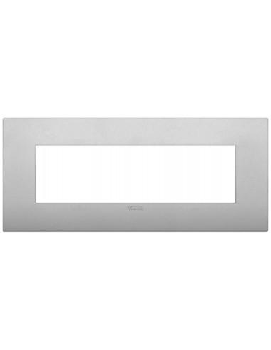 Vimar 19657.79 Arke - placca 7 moduli silver matt
