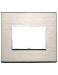 Vimar 21653.04 Eikon Evo - placca 3 moduli bronzo chiaro