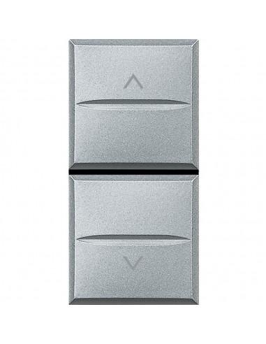 Axolute Tech - doppio pulsante interbloccati con frecce