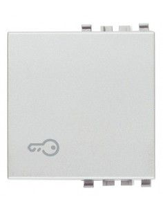 Vimar 20022.P.N Eikon - copritasto 2M illuminabile simbolo chiave