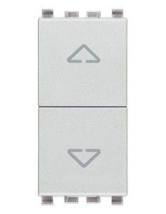 Vimar 20062.N Eikon - pulsante doppio interbloccato