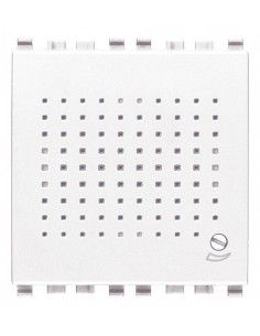 Vimar 20380.B Eikon - suoneria elettronica 3 toni 12Vac/dc