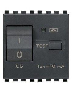 Vimar 20411.06 Eikon - interruttore automatico magnetotermico differenziale 1P+N 6A