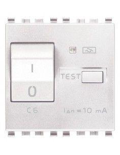 Vimar 20411.06.B Eikon - interruttore automatico magnetotermico differenziale 1P+N 6A
