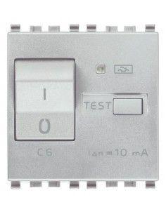 Vimar 20411.06.N Eikon - interruttore automatico magnetotermico differenziale 1P+N 6A