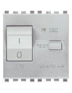 Vimar 20411.10.N Eikon - interruttore automatico magnetotermico differenziale 1P+N 10A