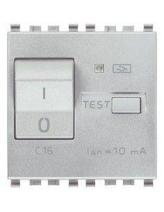 Vimar 20411.16.N Eikon - interruttore automatico magnetotermico differenziale 1P+N 16A