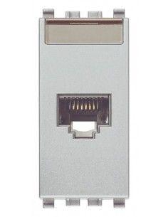 Vimar 20339.4.N Eikon - presa dati RJ45 cat. 5e