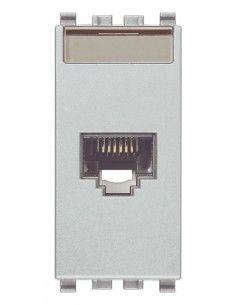 Vimar 20339.6.N Eikon - presa dati RJ45 cat. 6