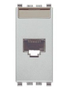 Vimar 20339.11.N Eikon - presa dati RJ45 cat. 5e