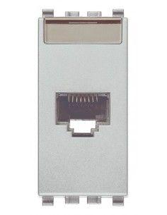 Vimar 20339.13.N Eikon - presa dati RJ45 cat. 6