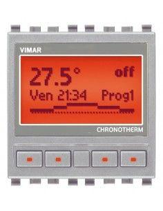 Vimar 20445.N Eikon - cronotermostato giornialiero settimanale