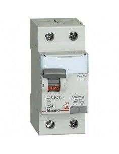 BTicino GC723AC25 Btdin - differenziale AC 2P 25A 30mA