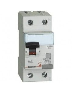 BTicino GC8813AC6 Btdin - magnetotermico differenziale AC 1P+N 6A 30mA