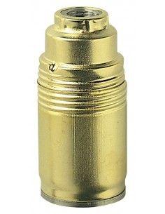 Vimar 02145 - portalampada E14 acciaio zincato lucido ottone