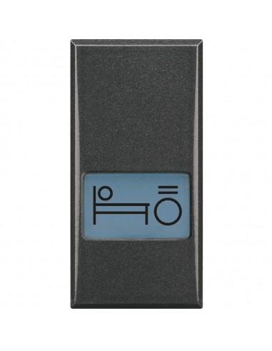 Axolute Scura - copritasto simbolo luce letto