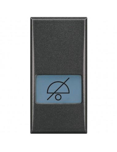 Axolute Scura - copritasto simbolo non disturbare