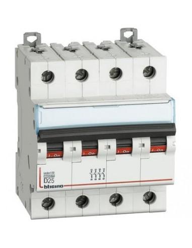 BTicino FH84D25 Btdin - magnetotermico 4P D25