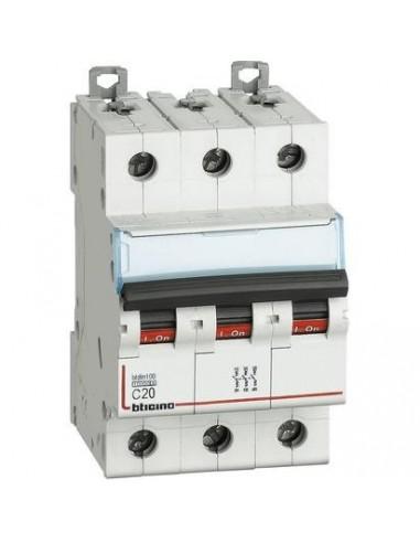 BTicino FH83C20 Btdin - magnetotermico 3P C20