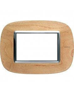 Axolute - placca ellittica Legni in legno 3 posti acero