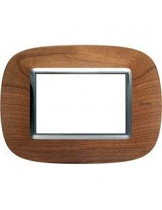 Axolute - placca ellittica Legni in legno 3 posti ciliegio