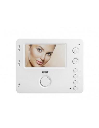 Urmet 1750/6 - videocitofono bianco Mìro vivavoce