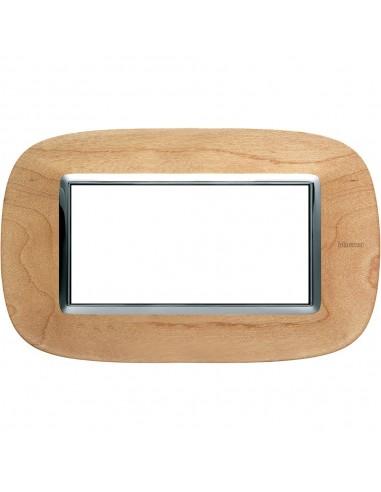 Axolute - placca ellittica Legni in legno 4 posti acero