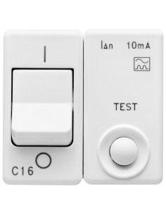 Gewiss GW20439 System - magnetotermico differenziale 1P+N 16A 10mA