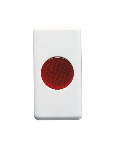 Gewiss GW20603 System - spia di segnalazione singola rossa