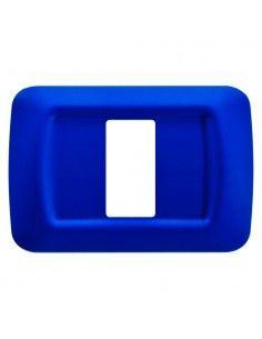Gewiss GW22571 System - placca 1 modulo blu jazz