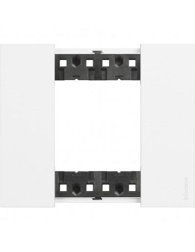 BTicino KA4802KW Living Now - placca 2 moduli bianco