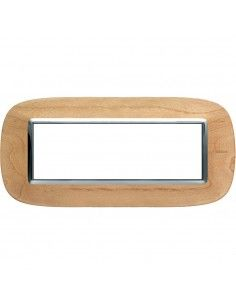 Axolute - placca ellittica Legni in legno 6 posti acero