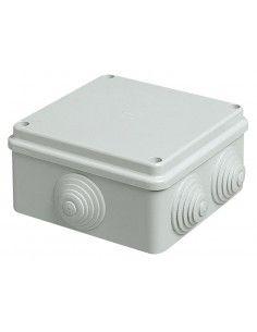 Vimar V55104 - scatola da parete con passacavi 100x100x50