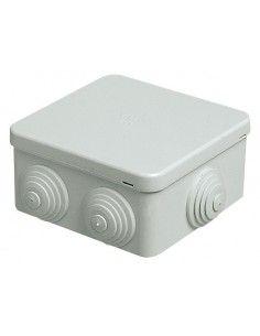 Vimar V55003 - scatola da parete con passacavi 80x80x40