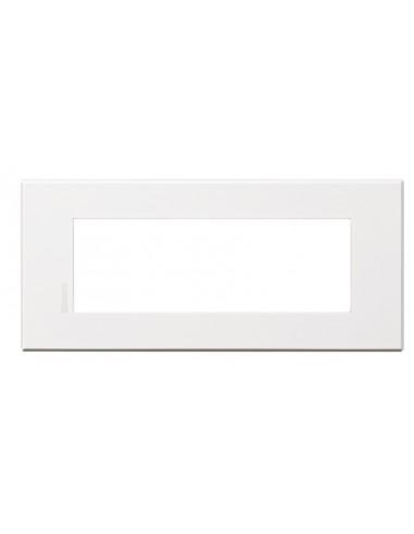 Axolute Air - placca rettangolare Bianco Opaco in metallo 6 posti bianco opaco personalizzabile
